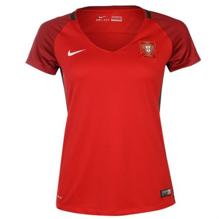 Camisa Feminina oficial Nike seleção de Portugal 2016 I
