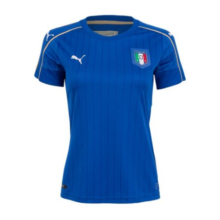 Camisa feminina oficial Puma seleção da Italia 2016 I