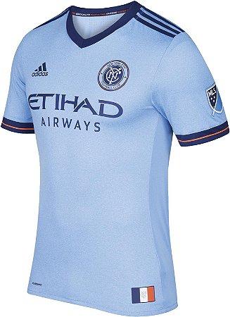 Camisa oficial Adidas New York City FC 2017 I jogador