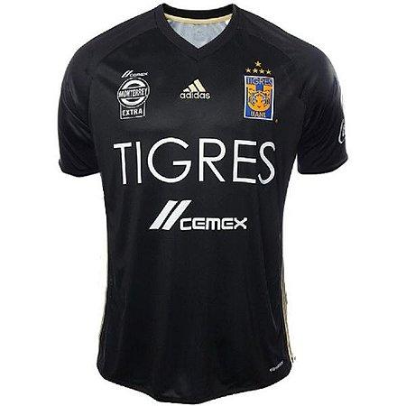 Camisa oficial Adidas Tigres UANL 2017 III jogador