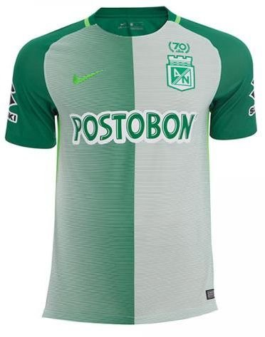Camisa oficial Nike Atlético Nacional de Medellin 2017 I jogador