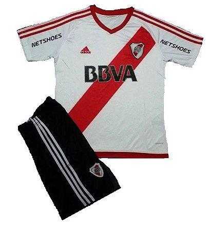 Kit infantil oficial Adidas River Plate 2016 I jogador