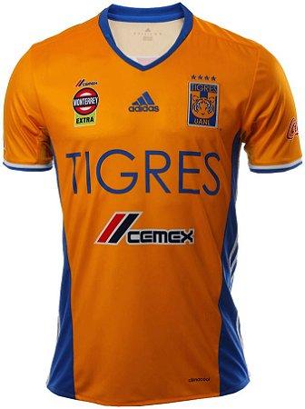 Camisa oficial Adidas Tigres UANL  2017 I jogador