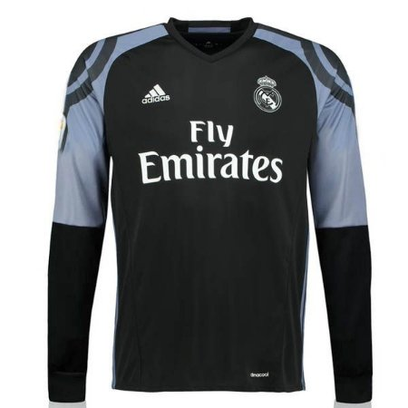 Camisa oficial Adidas Real Madrid 2016 2017 III jogador manga comprida