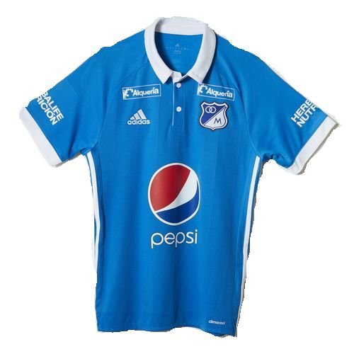 Loja Loucos por futebol - Camisa oficial Adidas Millionarios 2017 I ... ebff054fa58