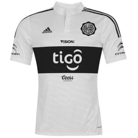 Camisa oficial Adidas Olimpia 2017 I jogador