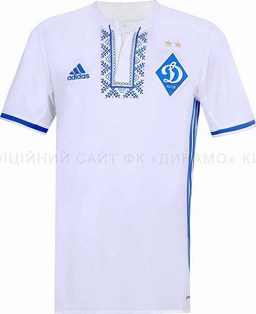 Camisa oficial Adidas Dinamo de Kiev 2016 2017 I jogador