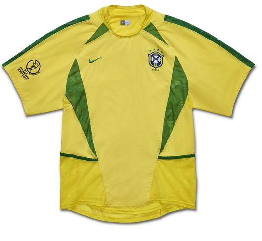 Camisa Nike retro seleção do Brasil Copa do mundo de 2002