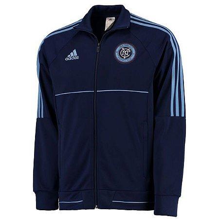 Jaqueta oficial Adidas New York City FC 2017 Azul