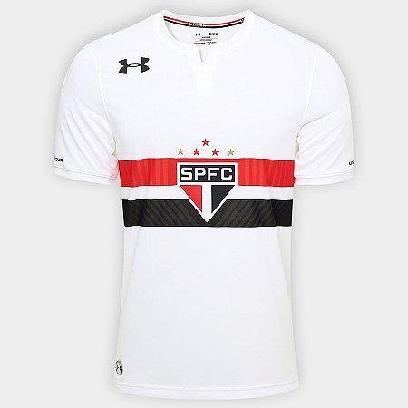 Camisa oficial Under Amour São Paulo 2017 2018 I jogador