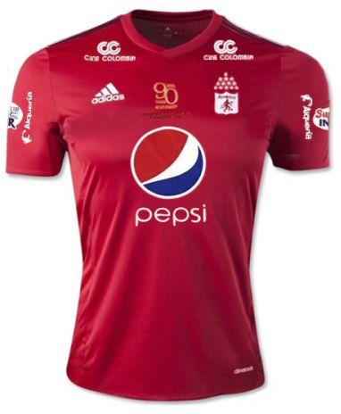 Camisa oficial Adidas América de Cali 2017 I jogador