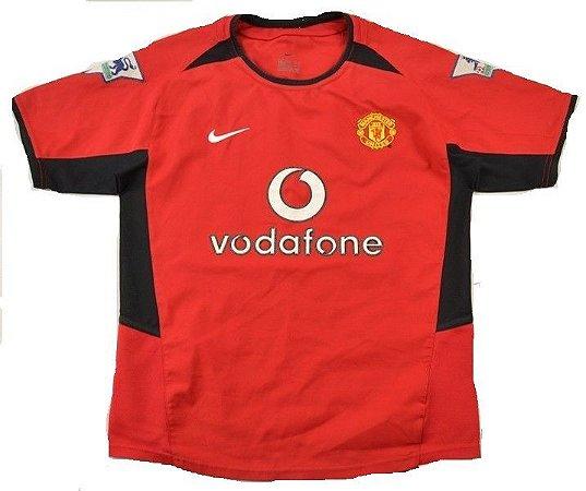 Camisa Nike Retro Manchester United 2002 2003 I jogador