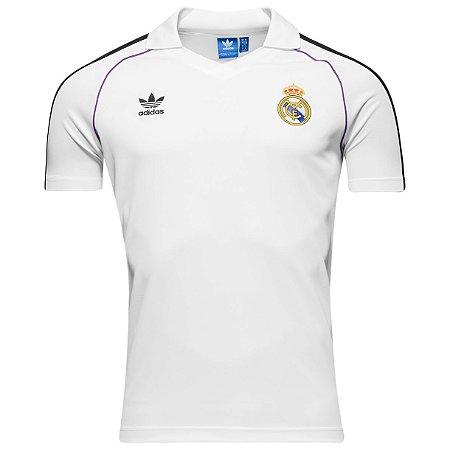 Camisa oficial Polo Adidas Real Madrid Originals