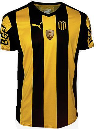 Camisa oficial Puma Peñarol 2017 I jogador com patch