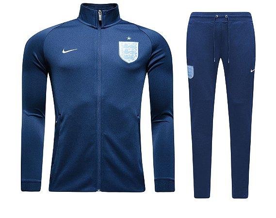 Kit treinamento oficial Nike seleção da Inglaterra 2017 Azul