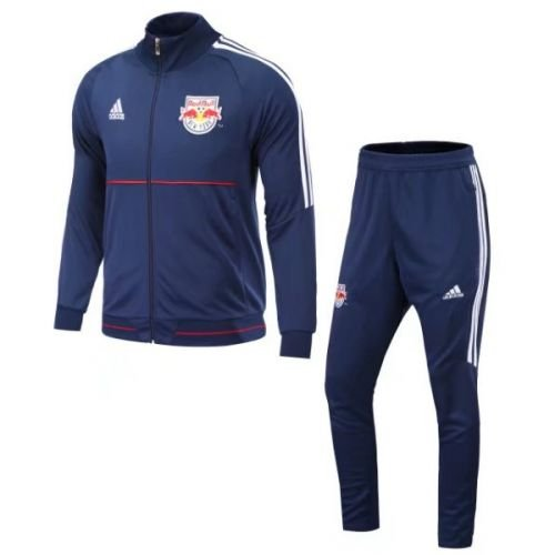 Kit treinamento oficial Adidas New York Red Bulls 2017 azul