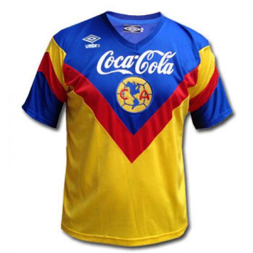 Camisa Retro Umbro America do Mexico 1993 1994 I jogador