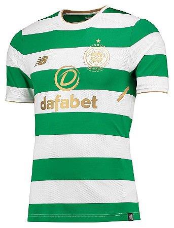 Camisa oficial New Balance Celtic 2017 2018 I jogador