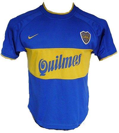 Camisa retro Nike Boca Juniors 2000 I jogador
