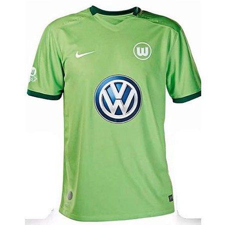 Camisa oficial Nike Wolfsburg 2017 2018 I jogador