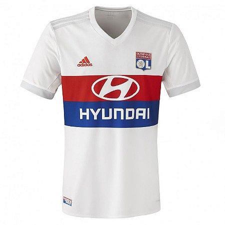 Camisa oficial Adidas Lyon 2017 2018 I jogador