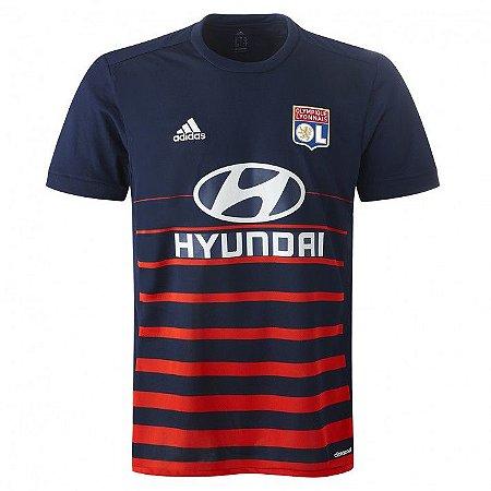 Camisa oficial Adidas Lyon 2017 2018 II jogador