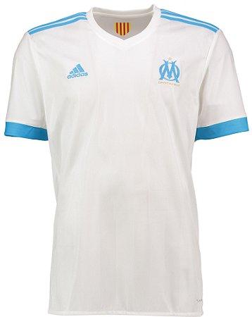 Camisa oficial Adidas Olympique de Marseille 2017 2018 I jogador