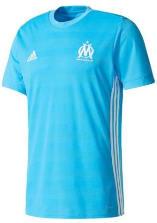 Camisa oficial Adidas Olympique de Marseille 2017 2018 II jogador