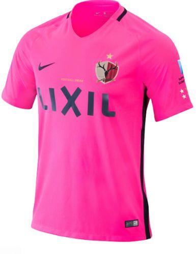 Camisa oficial Nike Kashima Antlers 2017 II jogador