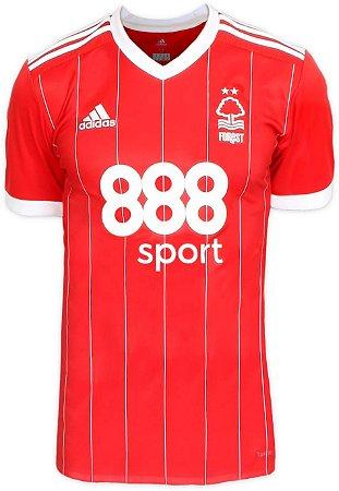 Camisa oficial Adidas Nottingham Forest 2017 2018 I jogador