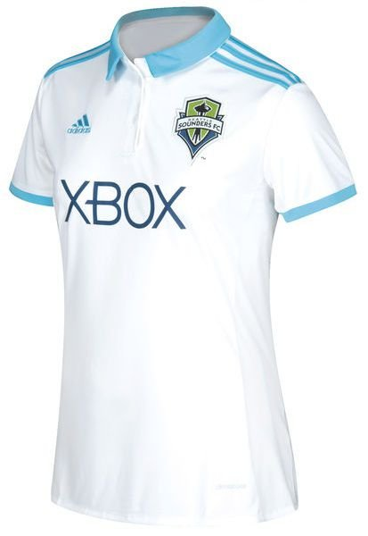 Camisa Feminina oficial Adidas Seattle Sounders 2017 II