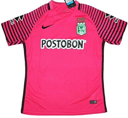 Camisa oficial Nike Atlético Nacional de Medellin 2017 II Goleiro