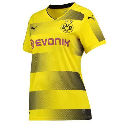Camisa feminina oficial Puma Borussia Dortmund 2017 2018 I