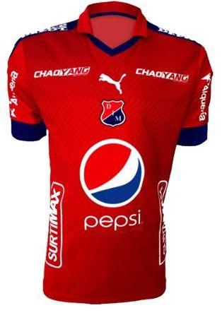 Camisa oficial Puma Independiente Medellin 2017 I jogador