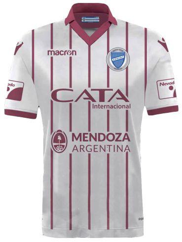 Camisa oficial Macron Godoy Cruz 2017 II jogador