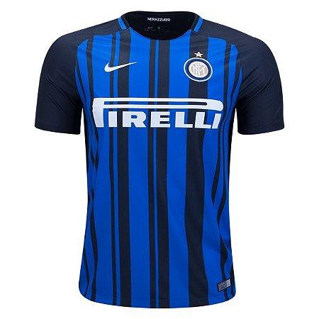 Camisa oficial Nike Inter de Milão 2017 2018 I jogador