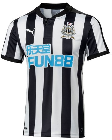 Camisa oficial Puma NewCastle United 2017 2018 I jogador