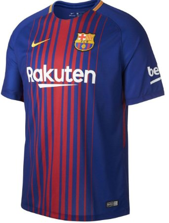 Camisa oficial Nike Barcelona 2017 2018 I jogador