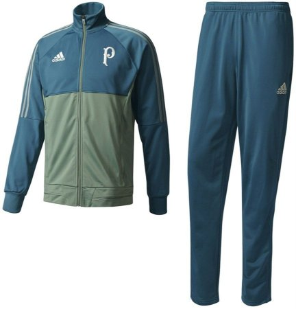 Kit treinamento oficial Adidas Palmeiras 2017 Verde