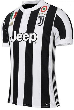 Camisa oficial Adidas Juventus 2017 2018 I jogador
