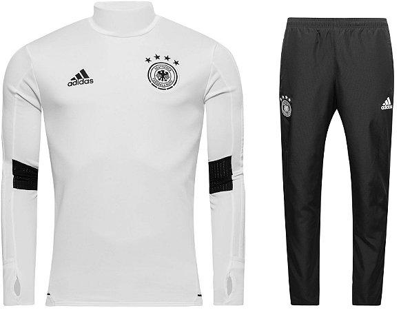 Kit treinamento oficial Adidas seleção da Alemanha 2017 Branco