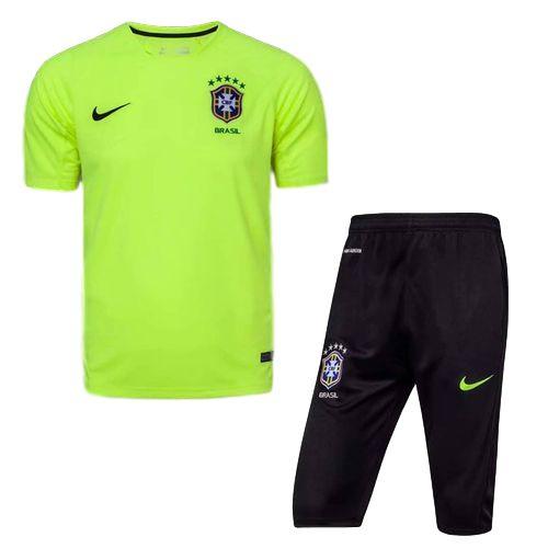 Kit pre jogo oficial seleção do Brasil 2017 verde e preto