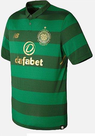 Camisa oficial New Balance Celtic 2017 2018 II jogador
