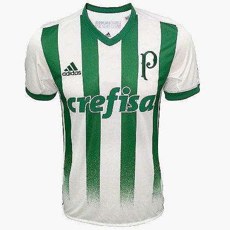 Camisa oficial Adidas Palmeiras 2017 II jogador