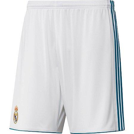 Calção oficial Adidas Real Madrid  2017 2018 I jogador