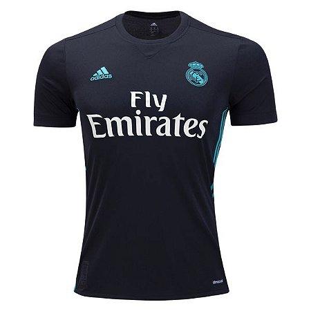 Camisa oficial Adidas Real Madrid 2017 2018 II jogador