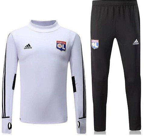 Kit treinamento oficial Adidas Lyon 2017 2018 Branco