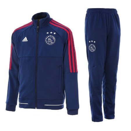 Kit treinamento oficial Adidas Ajax 2017 2018 Azul