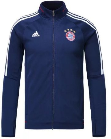 Jaqueta oficial Adidas Bayern de Munique 2017 2018 Azul