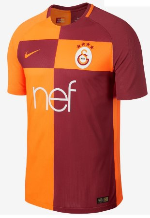 Camisa oficial Nike Galatasaray 2017 2018 I jogador